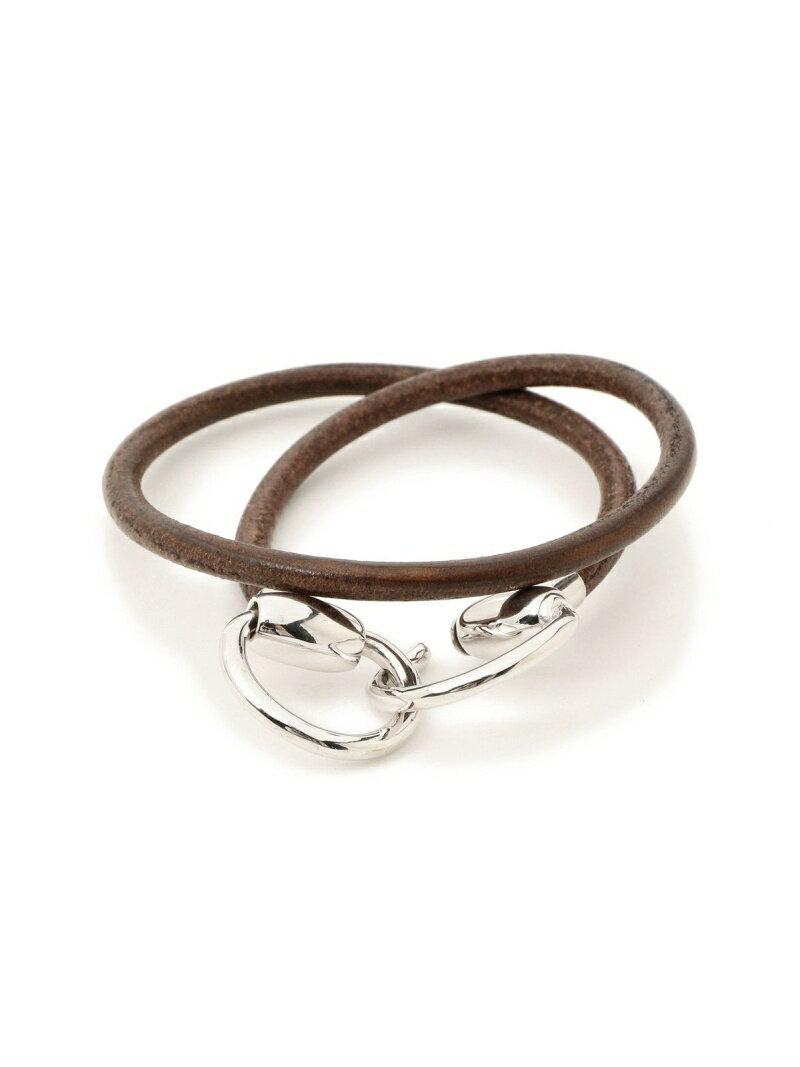 BEAMS MEN WACCOWACCO / Silver Bit Bracelet ビームス メン アクセサリー【送料無料】