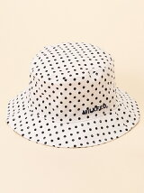 DOTTED BUCKET HAT