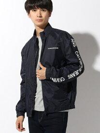 【SALE/50%OFF】Calvin Klein Jeans CALVIN KLEIN JEANS/メンズ トラック ジャケット カルバン・クライン コート/ジャケット ブルゾン ネイビー ブラック【送料無料】