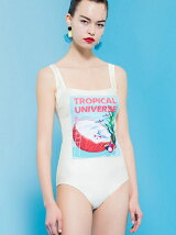 """ANDROID GIRL"" ONE-PIECE SWIMSUIT"