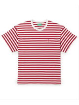 【UNITED COLORS OF BENETTON. FOR ADAM ET ROPE'】Stripe loop mark t-shirts
