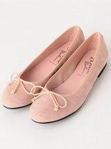 [ビスエバレリーナ]Bisue Ballerinas スエード FLAT バレエシューズ