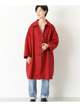 Honnete Round Collar  Coat