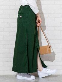 【SALE/50%OFF】coen SMITH'S別注チノスカート コーエン スカート ロングスカート グリーン ベージュ
