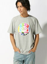 (M)COLOR BARS TEE