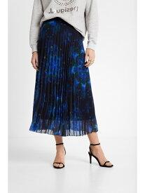 【SALE/50%OFF】Desigual スカート KENCY デシグアル スカート プリーツスカート/ギャザースカート ブルー【送料無料】