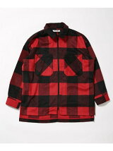 Wool Check ZIP Blouson