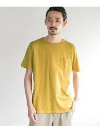 【SALE/50%OFF】コットンピグメントポケットTシャツ アーバンリサーチ カットソー【RBA_S】【RBA_E】