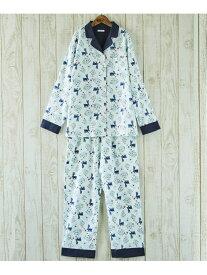 【SALE/40%OFF】une nana cool 布帛 うさきのこ パジャマ ウンナナクール インナー/ナイトウェア ルームウェア/はおり ホワイト イエロー