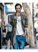 Blues knit coat