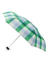 カラーブロックチェック折り畳み傘