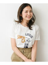 リメイク風カレッジTシャツ