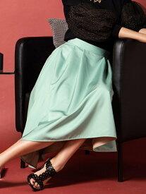 【SALE/70%OFF】Viaggio Blu 【洗濯機可】【3サイズ展開】バイカラーリバーシブルスカート ビアッジョブルー スカート スカートその他 グリーン ブルー【送料無料】