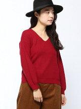 BROWNY STANDARD/(L)Vネックセーター