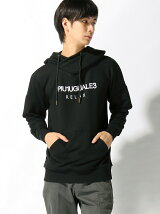 TETE HOMME/(M)【1piu1uguale3 RELAX】Relaxed Fit Biker Hooded Sweatshirt