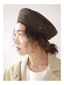 【SALE/64%OFF】Ungrid チェックベレー帽 アングリッド 帽子/ヘア小物【RBA_S】【RBA_E】