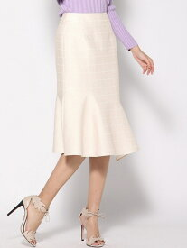 【SALE/70%OFF】Viaggio Blu 【3サイズ展開】ラメスクエアジャガードスカート ビアッジョブルー スカート スカートその他 ゴールド【送料無料】