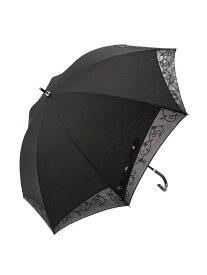 H.L H.L/(W)H.L 晴雨兼用婦人傘 エル ヌメロ ディエチ ファッショングッズ 長傘 ブラック【送料無料】