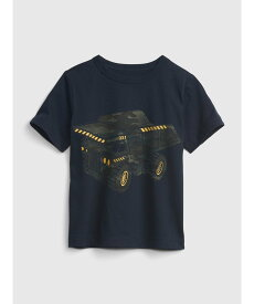 【SALE/25%OFF】GAP (K)オーガニック ミックスマッチ グラフィックtシャツ (幼児) ギャップ カットソー キッズカットソー ネイビー グリーン オレンジ レッド ベージュ イエロー