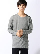 【BROWNY STANDARD】(M)サイドスリットロングカットソー