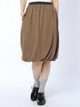 起毛フライスバルーンスカート