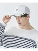 FILA/(U)FLM BASIC HONEYCOMMESH CAP フィラ
