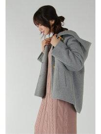 【SALE/70%OFF】ikka スライバーダッフルAラインコート イッカ コート/ジャケット ロングコート グレー ネイビー ブラウン