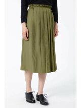 タックプリーツスカート