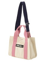 BICOLOR TAPE SMALL TOTE BAG