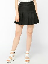 【JUNIOR SWEET】(L)レースアッププリーツスカート