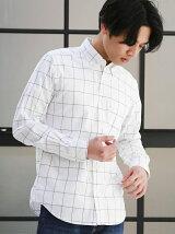 KT SUPIMA PIN/OX ウィンドーペン BD シャツ