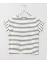 FORK&SPOON Nautical-striped Short-Sleeve