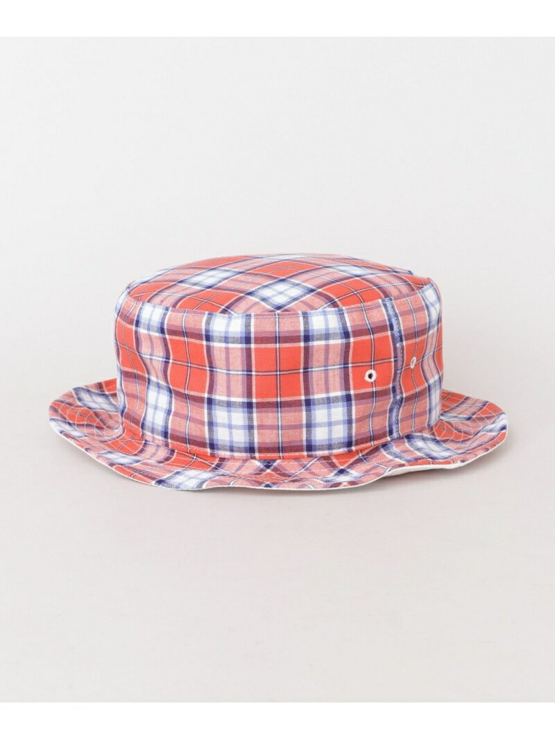 URBAN RESEARCH PART TIME SARVICE MADRAS CHECK REVERSIBLE HAT アーバンリサーチ 帽子/ヘア小物【送料無料】