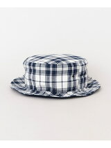 PART TIME SARVICE MADRAS CHECK REVERSIBLE HAT