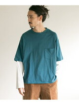BUKHT×URBAN RESEARCH LAYERED LONG-SLEEVE T-SHIRTS