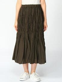 【SALE/72%OFF】DECOY SINCE 1981 プリーツスカート デコイシンス1981 スカート プリーツスカート/ギャザースカート ブラウン ネイビー