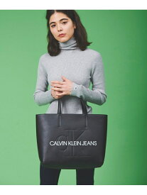 Calvin Klein Jeans Accessory CALVIN KLEIN 【カルバン クライン ジーンズ】 レディース ロゴ カジュアル バッグ 通学 通勤 収納 トートバッグ E/W TOTE29 DH2005Q3100 カルバン・クライン バッグ トートバッグ ブラック ピンク グリーン【送料無料】