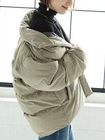 coen ALLIEDダウンジャケットFP700# コーエン コート/ジャケット ダウンジャケット グレー ブラック【送料無料】