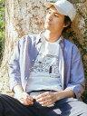 【SALE/50%OFF】UNITED ARROWS green label relaxing CSM イージーリネン ボタンダウン 7分袖 シャツ ユナイテッドア…