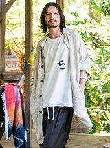 Linen shop coat