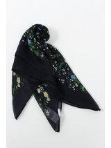 70×70アイビー柄スカーフ