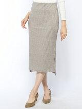 (W)ラメテレコミディタイトスカート