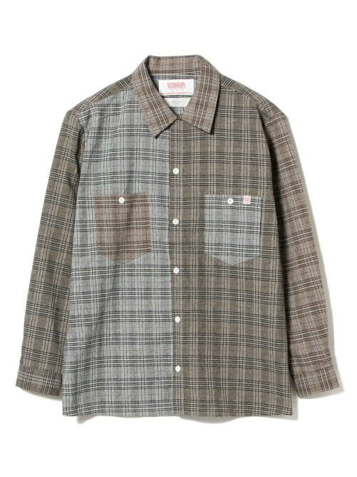 UNIVERSAL OVERALL × B:MING by BEAMS / 別注 クレイジーパターン リラックスシャツ BEAMS ビームス