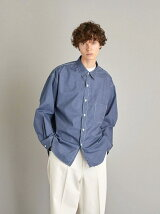 <Steven Alan> EPS TC/CHAMBRAY WORK REGULAR COLLAR SHIRT/シャツ