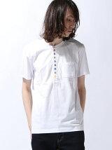 [JOEY FACTORY]10ボタンヘンリーTシャツ