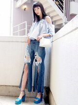 CENTER CRASH WIDE DENIM