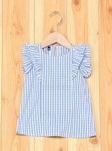 フリルノースリーブシャツ/キッズ/夏