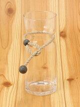 Aarikka oy/SAIMAA ガラスベース L 41 / 花瓶