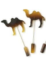 acetate camel pin
