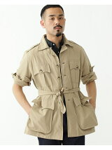 Willis&Geiger * BEAMS PLUS / 別注 Bush Jacket ブッシュポプリン